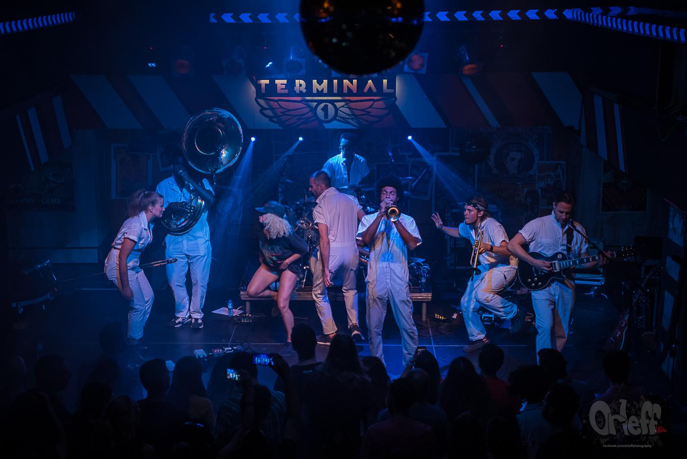 Brass Against @ Terminal 1, 2019
