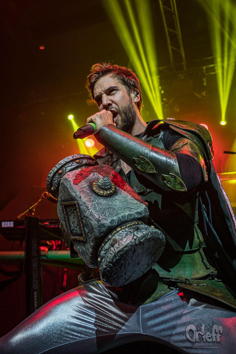 Gloryhammer @ Music Jam, 2019
